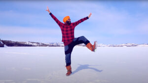 Post Vaccine Happy Dance: Not Just Showing Off