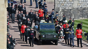 Prince Philip Remembered In Scaled Back Funeral: NPR