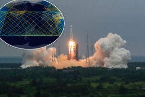 Debris from Chinese rocket expected to crash into Earth soon