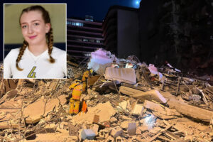 Florida woman reportedly pulls daughter from condo rubble