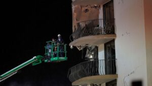 Desperate search for Surfside building collapse survivors continues as death toll rises