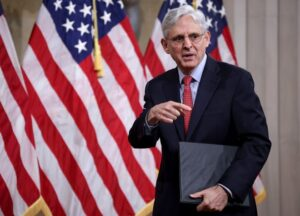 Georgia voting restrictions prompt DOJ to sue, AG Merrick Garland says