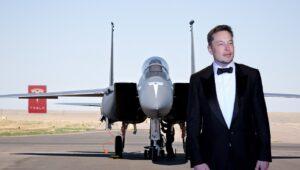 Elon Musk Unveils New Tesla F-15