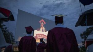 2021 High School Graduations Aren't Quite Back To Normal : NPR