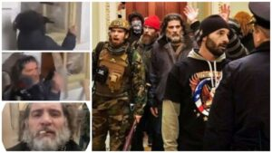 Feds Track Down Dominic'Spazzo' Pezzola, the Proud Boy Seen Smashing Capitol Window With Police Shield