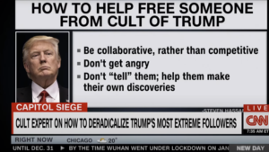 CNN airs guide to DEPROGRAM MAGA SUPPORTERS as cult expert claims ENTIRE country needs post-Trump help — RT USA News