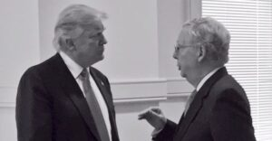"""President Trump Releases Statement BLASTING Mitch McConnell as """"Dour, Sullen and Unsmiling Political Hack"""""""