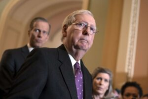 McConnell Proposes Impeachment Trial Schedule
