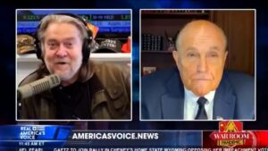 Even Steve Bannon Isn't Buying Rudy Giuliani's Latest Unhinged Conspiracy