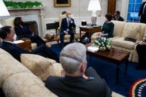 READ: White House Statement After Pres. Biden Met With Republican Senators