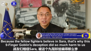 The 9-Finger Goblin (Sara Lihong Wei) Is a Big Liar, Who Together With VOG Have Done Tremendous Harm to Our Fellow Fighters – GNEWS