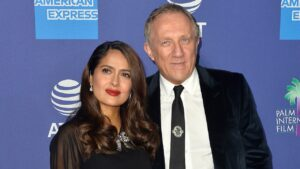 Salma Hayek addresses claims she married her husband François-Henri Pinault for'money':'Think what you want'