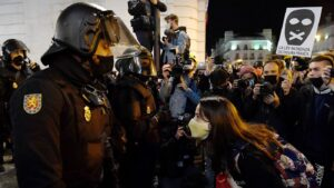 In Spain, Rapper's Arrest Over Controversial Tweets Sparks Days Of Protests: NPR