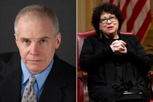 Roy Den Hollander also tracked SC Justice Sonia Sotomayor