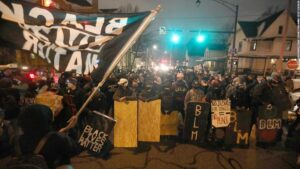 Daniel Prude: Protesters gather in Rochester streets after announcement that no police officers will be charged