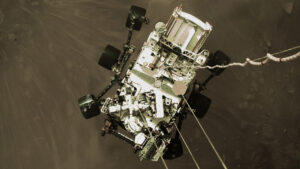 NASA leaves hidden message on parachute of Mars rover