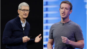 Why Is Facebook Launching An All-Out War On Apple's Upcoming iPhone Update?: NPR