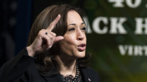 At Black History Event, Harris Champions COVID-19 Bill For Its Aid To Black Americans: NPR