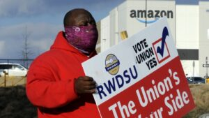 Amazon Union Fight Heats Up At Bessemer Warehouse In Alabama: NPR