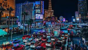 Crowds of people swarm Las Vegas Strip days before capacity limits ease