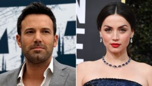 Ana de Armas seemingly addresses rumors that she's dating ex Ben Affleck again:'I don't think so'