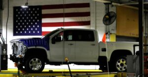 GM and Ford struggle with global chip shortage as Biden reviews supply chain