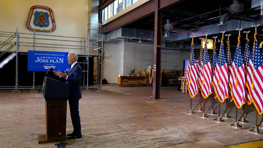 Analysis: Only time will tell just how'big and bold' Biden's infrastructure plan is for Black Americans