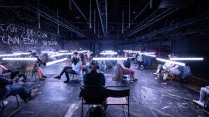 With'Blindness,' Theater Returns to New York City. And It's Brilliantly Terrifying.