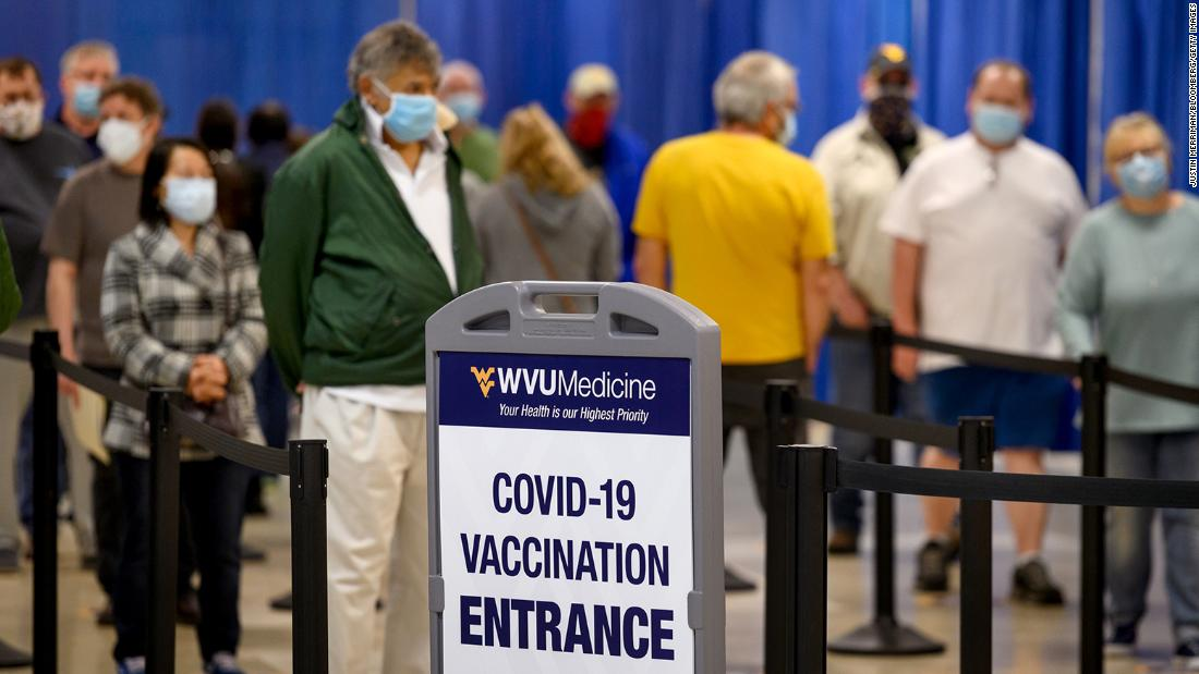 US coronavirus: Half of adults could have a Covid-19 vaccine dose by the weekend, but experts say it's too soon to declare victory