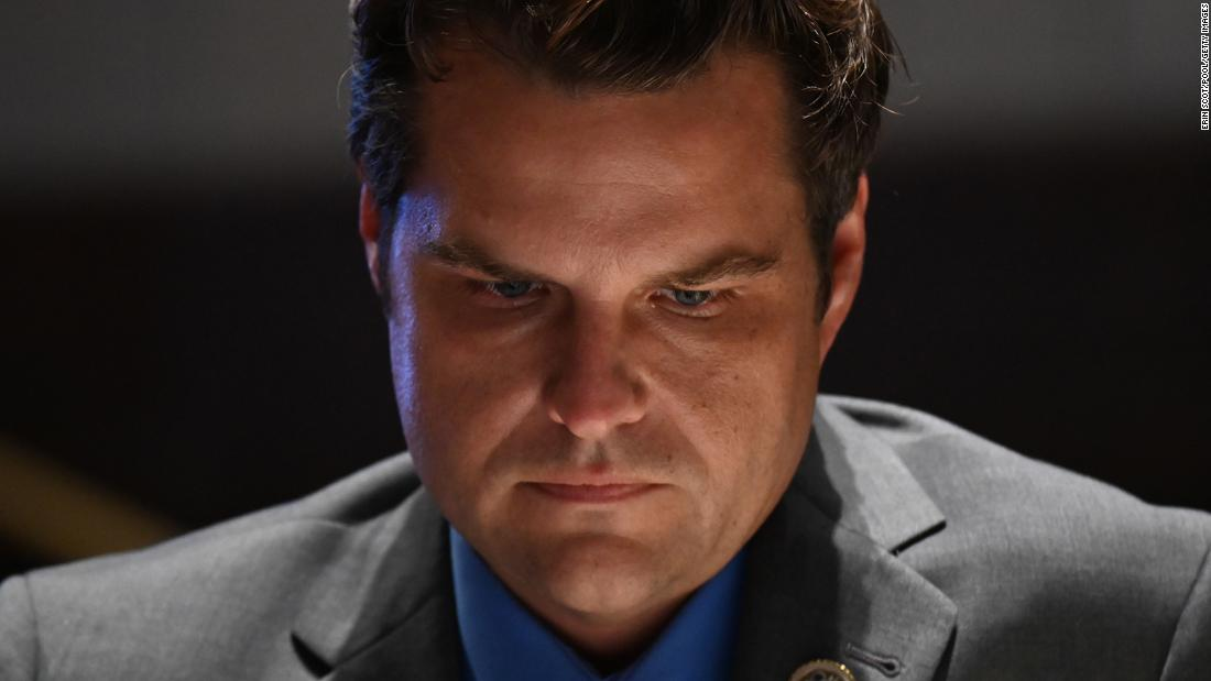 Matt Gaetz sought a preemptive pardon from Trump, but the request was never seriously considered