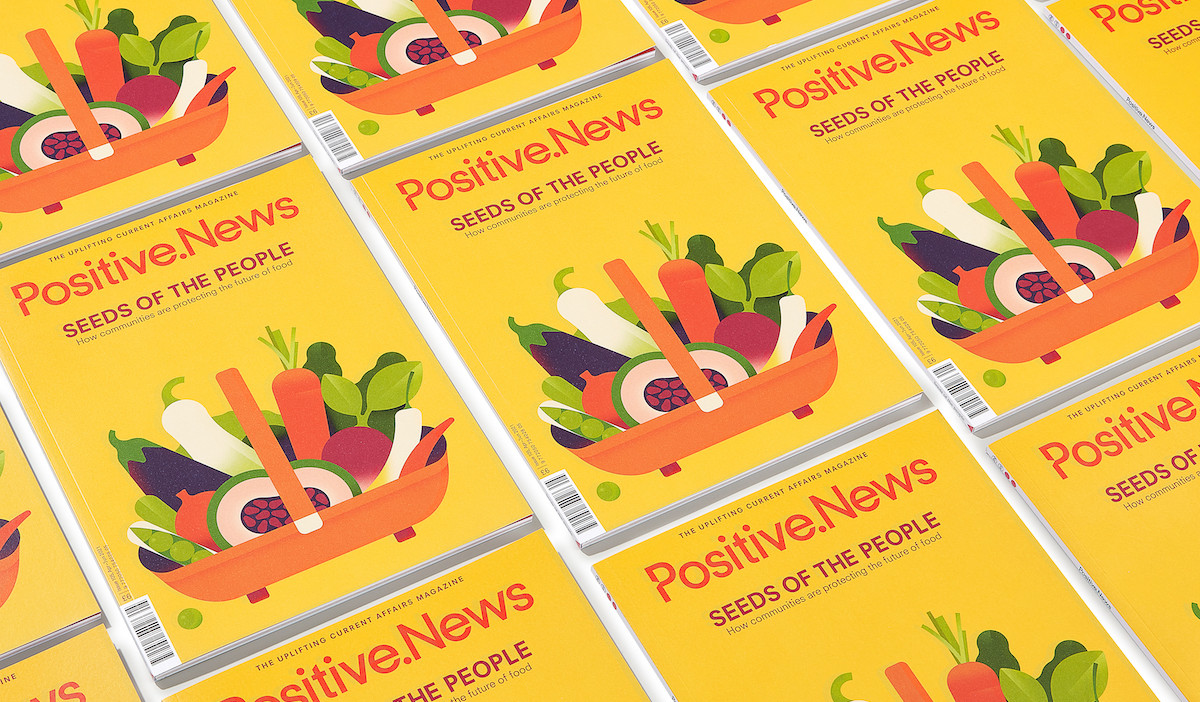 A fresh start: new issue of Positive News helps people to look forward