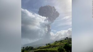 Volcano erupts on Caribbean island of St. Vincent, sending ash 20,000 feet into the air