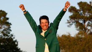 Hideki Matsuyama wins the 2021 Masters Tournament in Augusta