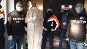 Stolen Roman Statue Discovered In Belgium Shop By Off-Duty Art Cops: NPR