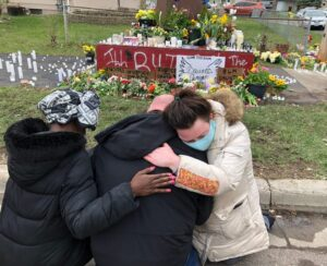Protesters call for justice in wake of shooting