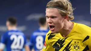 Erling Haaland destined to'smash a lot of records,' says Norwegian great Erik Thorstvedt