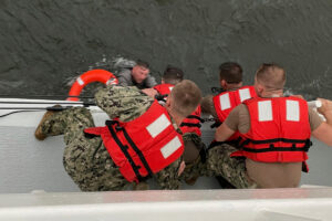 Six people rescued after boat capsizes off Louisiana coast