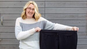 Mom loses 85 pounds after eliminating takeout during lockdown