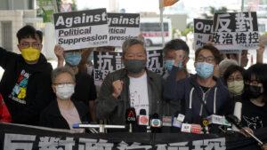 9 Hong Kong Pro-Democracy Activists Sentenced For 2019 Protests: NPR