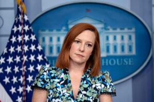 Jen Psaki pressed on Joe Biden'weakness' over Putin summit