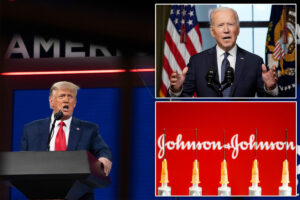 Trump takes jab at Biden's'lunacy' of J&J vaccination pause