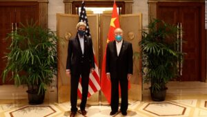 US and China agree to cooperate on climate change after talks in Shanghai