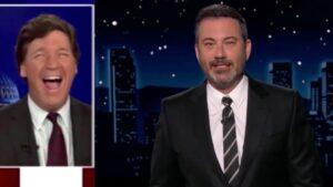 Jimmy Kimmel Brutally Mocks Tucker Carlson's'Little Girl' Laugh