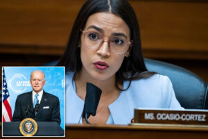 AOC can't attend Biden address because of'very strict' House COVID rules