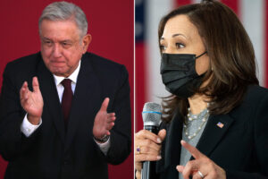 Kamala Harris to meet virtually with Mexican president amid border crisis