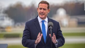Ted Budd launches North Carolina Senate bid by aligning himself with Trump in growing primary field