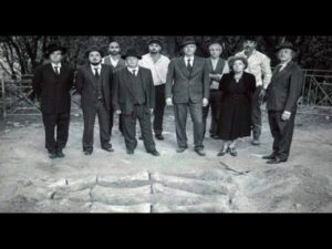 Giant of Cuma Naples Italy, discovery in 1938 of large bone fragments
