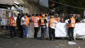 Dozens killed in stampede at Israeli holy site