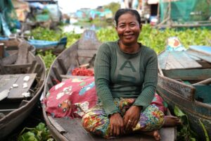 How women in Cambodia's floating villages are adapting to climate change