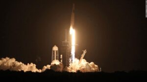 SpaceX mission: Four astronauts to return from five-month ISS mission